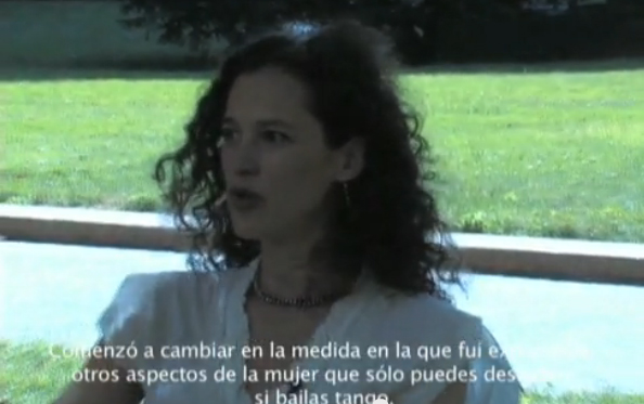 Tango Dancer Valeria Solomonoff