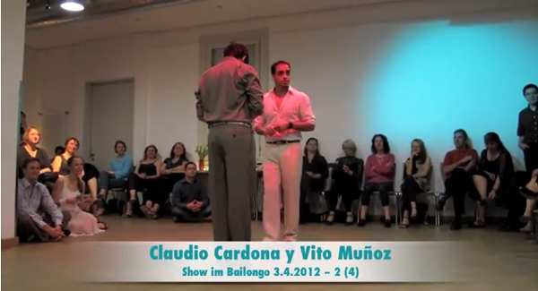 Claudio Cardona and Vito Munoz