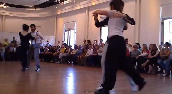Queer tango dancers from Uruguay