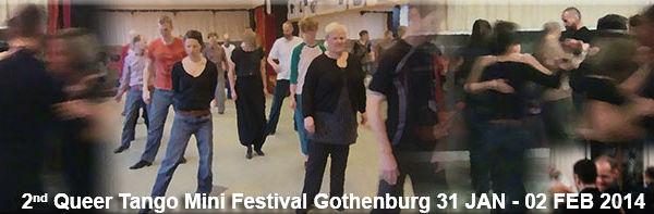 2nd Queer Tango Mini Festival Gothenburg