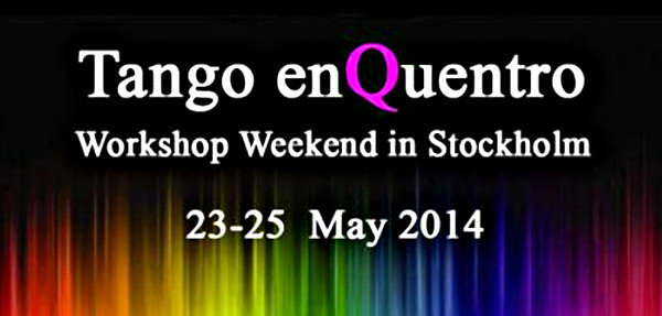 Tango enQuentro in Stockholm May 23 – 25 2014
