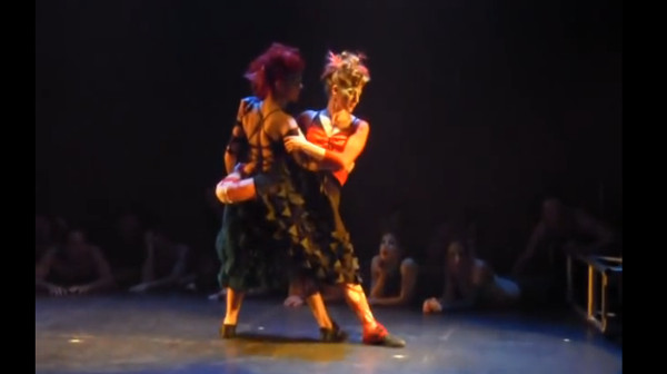 """Tango Ecstasy"" by Nancy Lavoie and Karen Gouldreault"