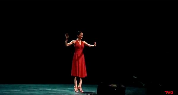 Alicja Ziolko at Teatro Valle Occupato.