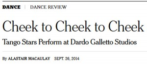 Dance Review in The New York Times