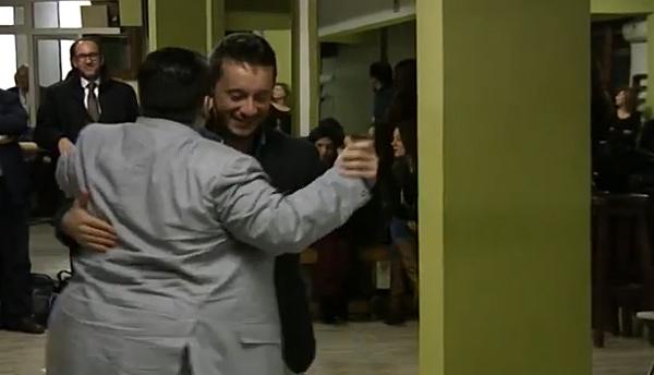 Walter Venturini and Aoniken Quiroga