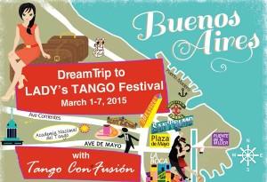 Travel to Buenos Aires with Tango Con*Fusión