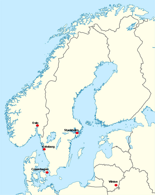 Tango queer world tour compilation 3 the queer tango project map of scandinavia gumiabroncs Gallery