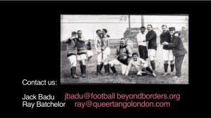 The Football Queer Tango Project