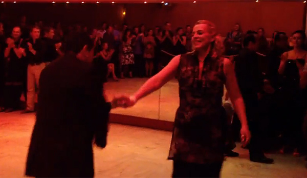 Helen La Vikinga and Janvier Guiraldi