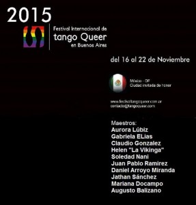 Queer Tango Festival in Buenos Aires 2015