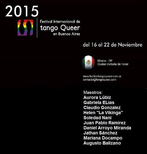 Queer Tango Festival in Buenos Aires 2015