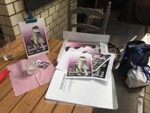 QTB promotional materials, Berlin 2015