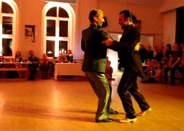 Maurizio Ghella and Martin Maldonado in Denmark
