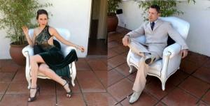 Liliana Chenlo and Alejandro Figliolo