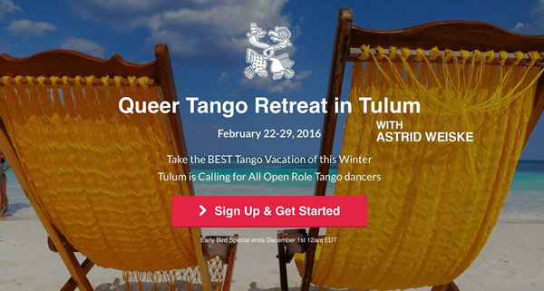 Queer Tango Retreat, Mexico 2016