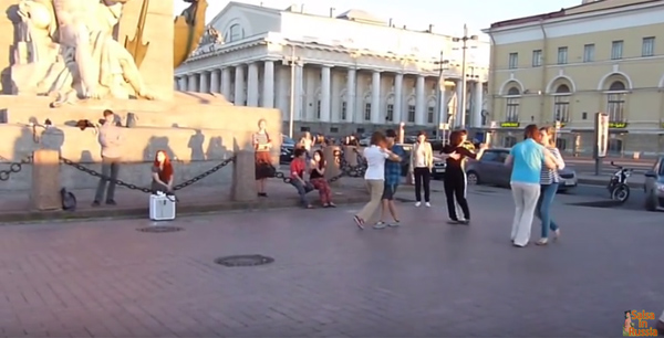 Queer Tango, open air in St Petersburg