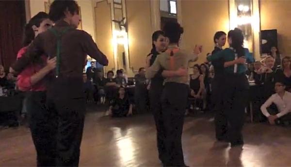 Tango Entre Mujeres, Festival de Tango Queer 2016 en Buenos Aires