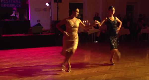 Moira Castellano and Corina Herrera