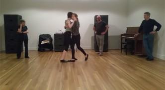 Brigitta Winkler leads Rebecca Shulman