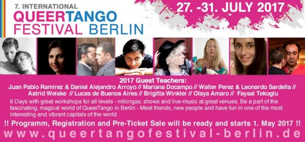 The 7. international Queertango Festival in Berlin