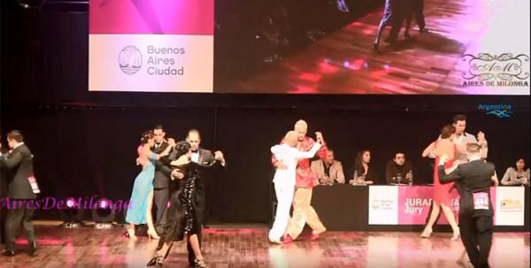 Same Gender Tango at The Mundial de Tango 2018