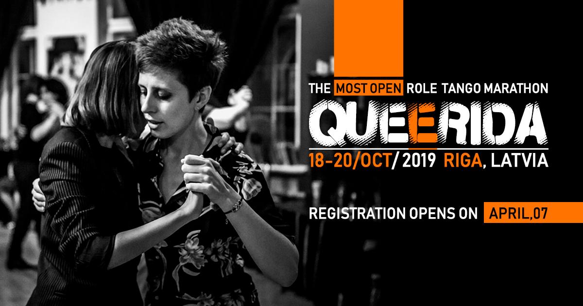 Queerida 2019 – The Most Open Role Tango Marathon