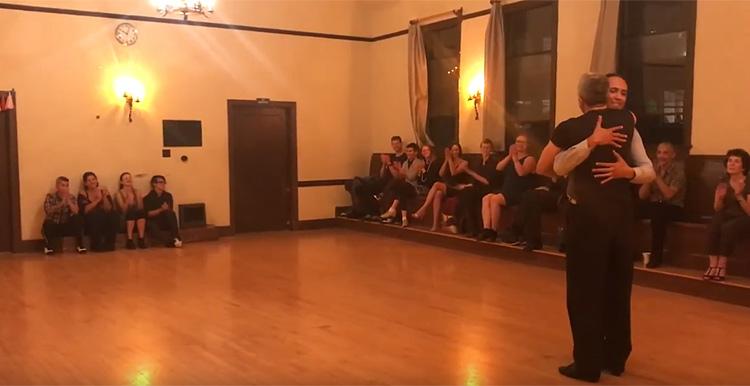 Abrazo Queer Tango – Augusto Balizano and Scott Boddye