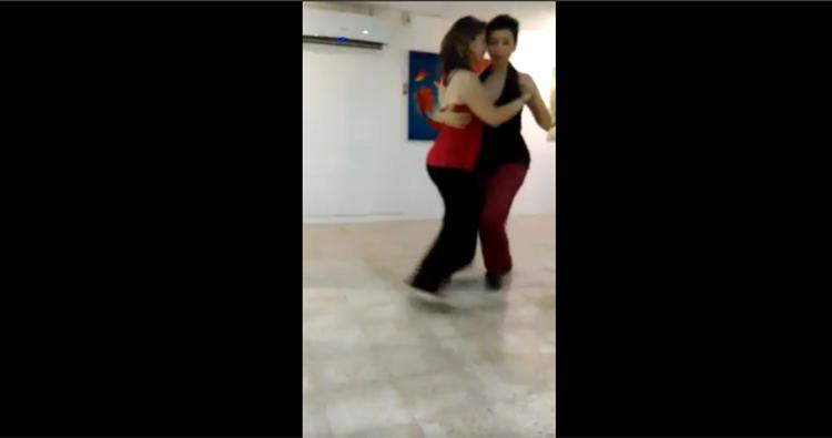 Cyntia Sícaro and Carmen Hergos