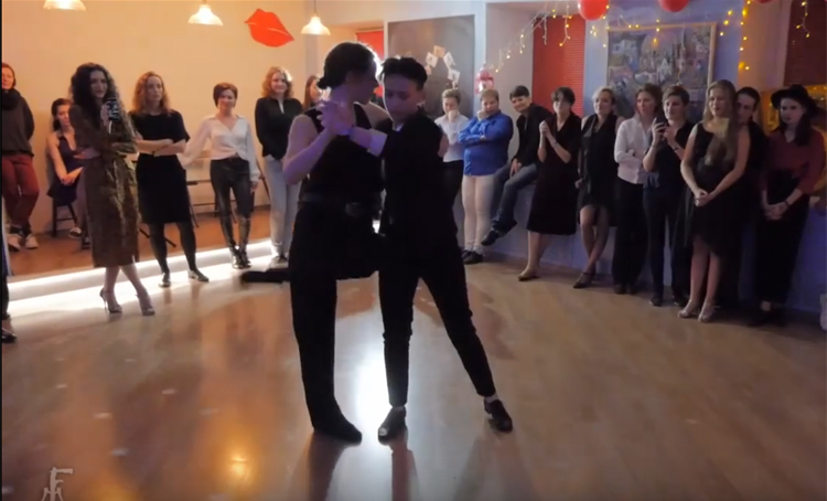 The 5th Queer Dance Club anniversary in St.Petersburg, Russia 2019