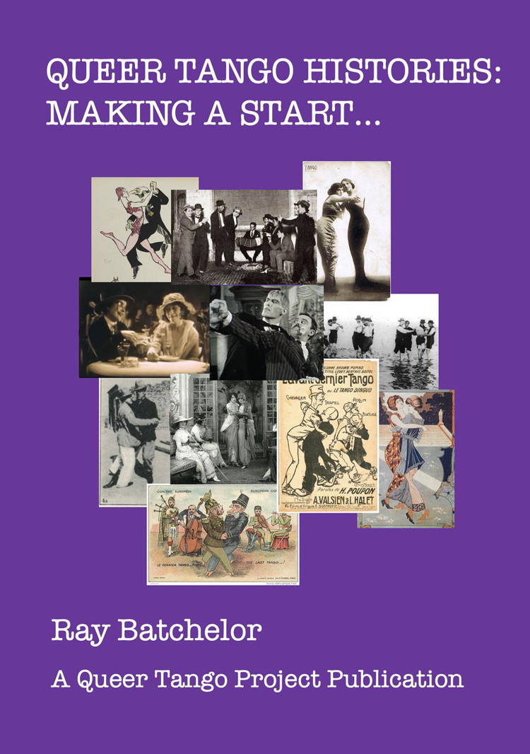 New eBook: 'QUEER TANGO HISTORIES: MAKING A START…' by Ray Batchelor