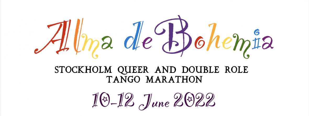 Alma de Bohemia – Stockholm Queer and Double Role Tango Marathon 2022