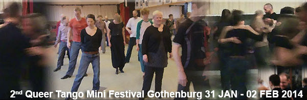 2nd Queer Tango Mini Festival Gothenburg