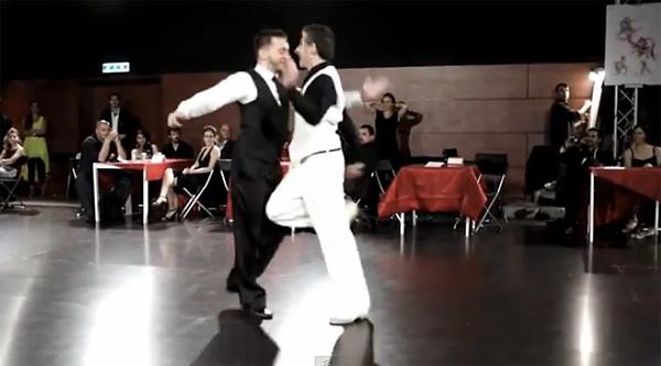 Cristiano Bramani and Walter Venturini – Queer Tango