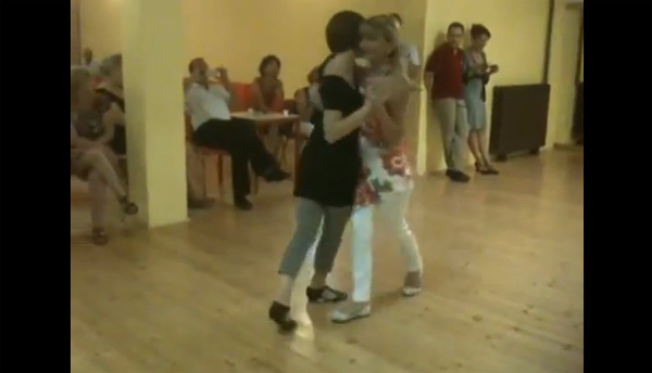 Eleonora Rivetti and Claudia Rossi – Tango Milonguero Vals