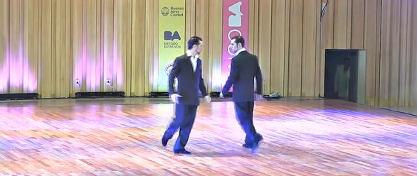 'Male Couple at Mundial del tango 2014 – Queer Tango'