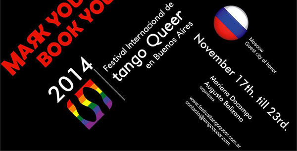 The VIII International Queer Tango Festival – in BA