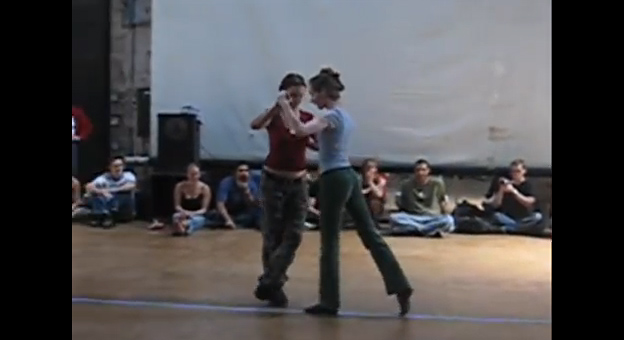 Rebecca Shulman and Rebecca Rorick Smith – Tango Technique.