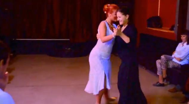 Yana Khalilova and Yulia Vasiljeva – Tango vals