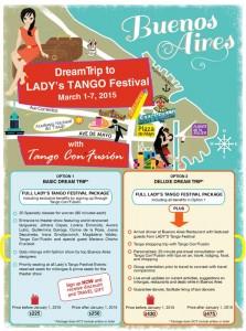 Poster Tango Con'fusíon's trip to Buenos Aires 2015