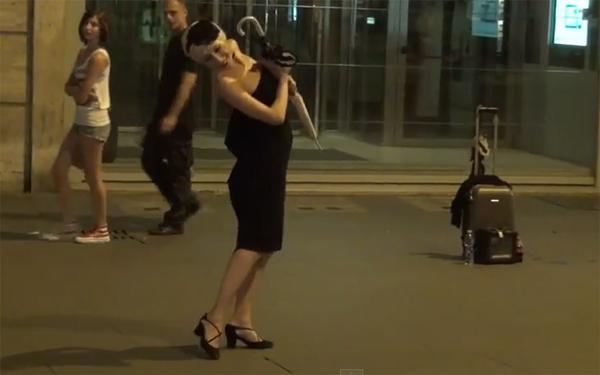 Tango solo, Rome, 2011