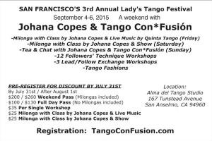 Lady's Tango Festival 2015 page 2