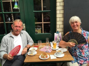 Ray and Birthe in Berlin 2015