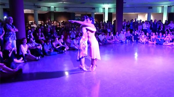 Corina Herrera and Ines Muzzopappa