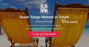 Queer Tango Retreat, Mexico 2016