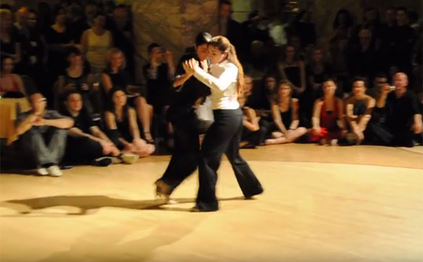 Ariadna Naveira and Mariangeles Caamano (2011)