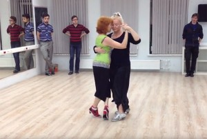 Elvira Malishevskaya and Tatjana Arhipova
