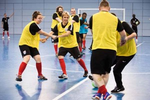 Tango Football drill. Image: Joana Freitas