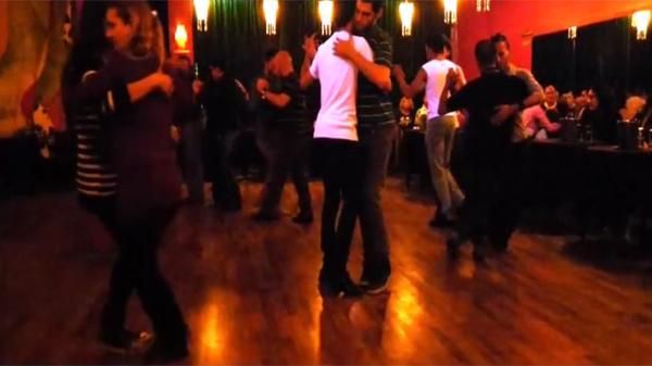 People dancing at LA MarSHàlL in Buenos Aires