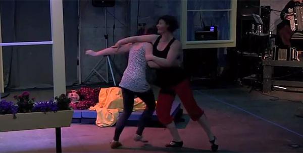 Tango Con*Fusión's Charity Lebron & Debbie Goodwin (2009)
