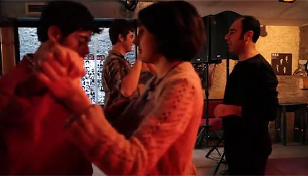 A Queer Tango workshop with Faysal Tekoglu (2012)